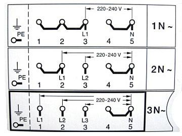 Электрическая схема электроплиты Томь-М