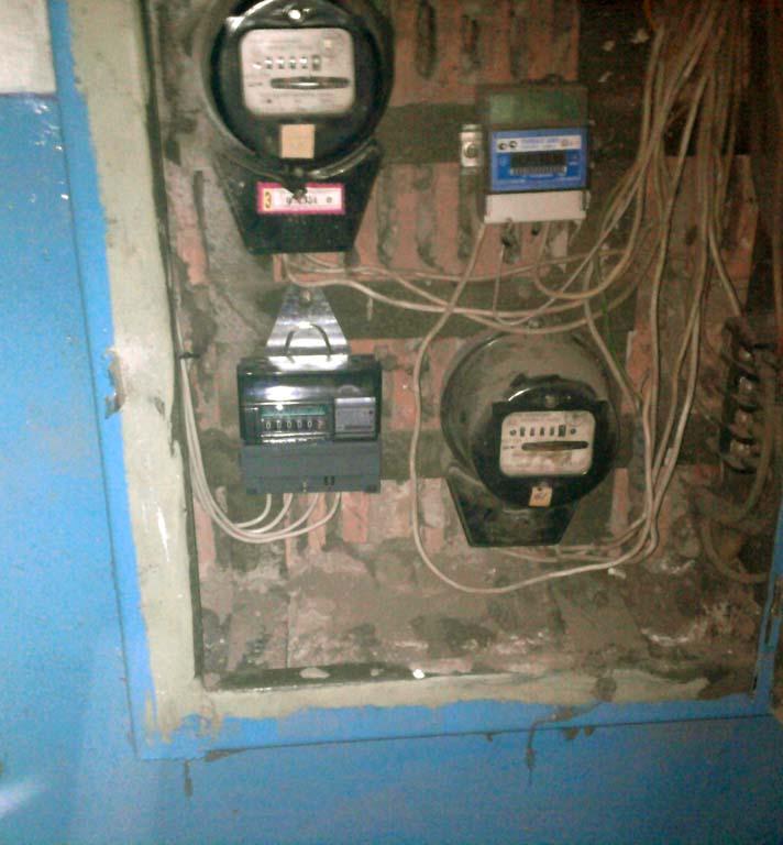 Замена электросчётчика в